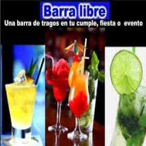 BARRA DE TRAGOS MOVILES